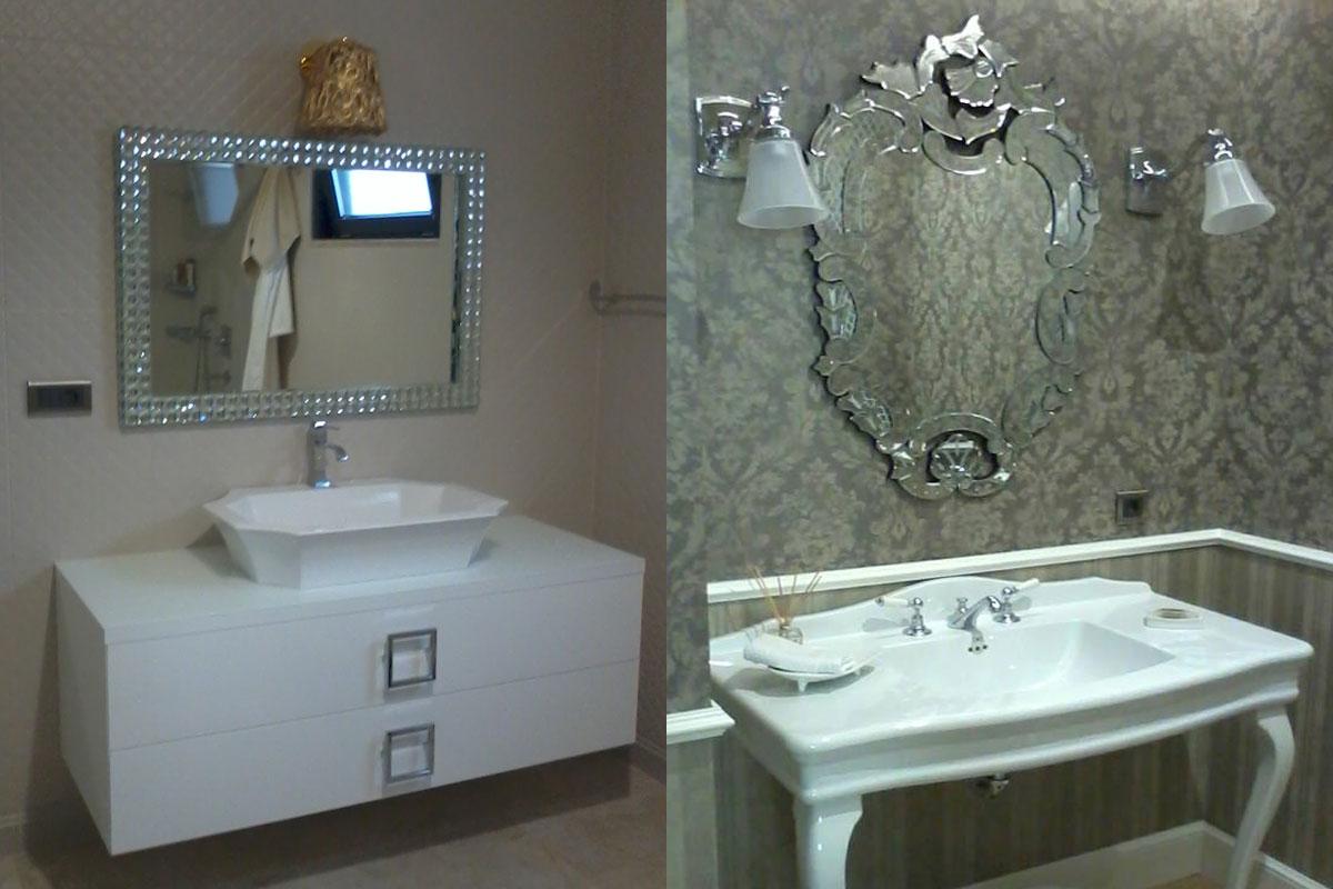 venedik banyo aynaları
